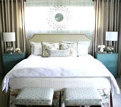 bedroom curtains behind bed. White Bedroom Curtains Decorating Ideas Bed Under Window Best Behind On G