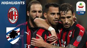 AC Milan 3-2 Sampdoria | Suso Strike Settles San Siro Thriller