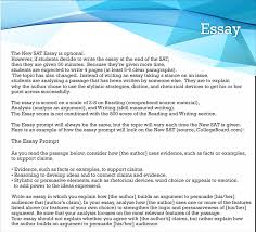 new sat essay co new sat essay