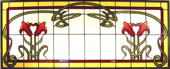 art nouveau stained glass sabina frank berkeley stained glass studio custom stained glass cabinets leaded windows architectural installation designs