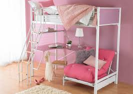 Bunk Bed With Couch And Desk Bunk Beds Full Size Metal Loft Bed With Desk Loft Bed With
