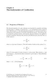 PDF) Thermodynamics of Combustion