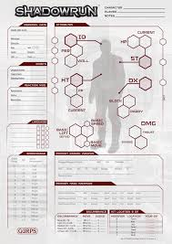 shadowrun 5 character sheet gurps shadowrun character sheet front r by temir7 on deviantart