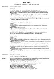 Cad Engineer Resume Samples Velvet Jobs
