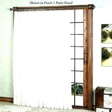 curtain rods for sliding glass doors door panel curtains large size of wall revit