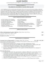 Sales Specialist Resume Click Here To Download This Telephone