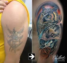 значение татуировки сова Chillout Tattoo Workshop