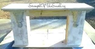 fireplace mantel shelf how shelves diy for brick