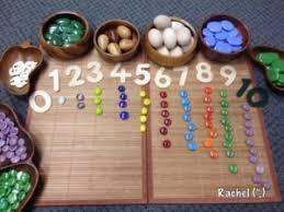 Una caja de cartón, unos envases de yogur vacíos, y unos tapones de colores. Mas De 30 Juegos Para Aprender Matematicas Y Conceptos Logico Matematicos Hagamos Cosas