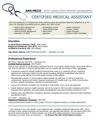 Medical Assistant Resume Samples Free Medical Assistant Resume Samples Free Resume Examples 1