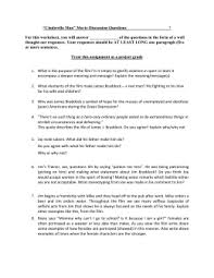 "cinderella man"" movie questions ""cinderella man"" movie discussion questions for this worksheet """