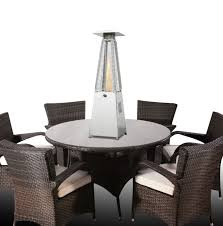 table heater. 4kw paros table top gas patio heater by firefly™