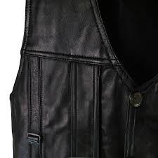 black genuine leather vest men plus size clothing motorbike sheepskin waistcoat photography vests man motorcycle jacket 5xl 6xl
