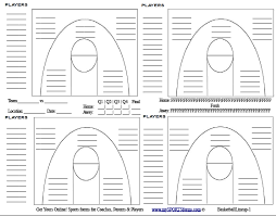 Volleyball Shot Chart Basketball Shot Charts Printable Template Better Basketball