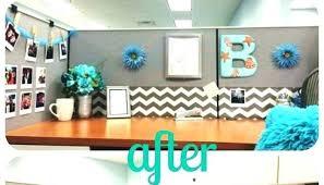 office decorations. Desk Decorations Ideas Office Cubicle Decoration R