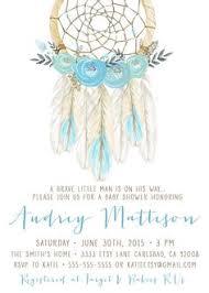 Dream Catcher Baby Shower Invitations Boho Baby Shower Invitation Girl Dream Catcher Feather Flower 16