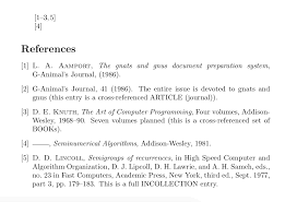Siam Bibliography How To Cite An Interval Of Papers Tex Latex