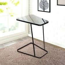 small metal end table metal table round metal end table metal and glass end tables black