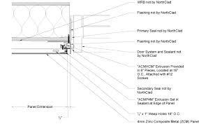 Door Jamb Detail Plan Fig Door Jamb Detail Plan T Nongzico