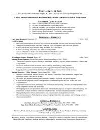 Medical Administration Resume Examples Sevte
