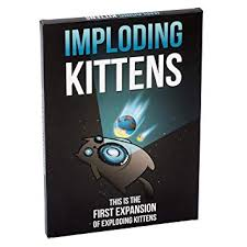 Buy <b>Imploding Kittens</b>: This is the First Expansion of Exploding ...