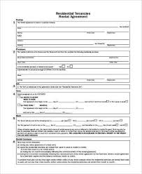 Apartment Rental Application Form Unique Generic Rental Agreement ...