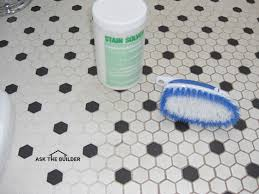 how to clean stained grout. Wonderful Grout Grout Cleaning Intended How To Clean Stained D