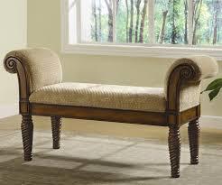 bedroom wood benches. Vintage Bedroom Wood Bench With Storage Furniture Brown Polished Teak Frame Light Velvet Padded Seat And Benches ;