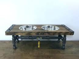 dog bowls with stand t t t single dog water bowl stand