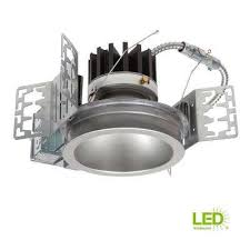 integrated led recessed ceiling light fixture power module kit at 4000k cool