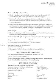 plain text resume examples resume for it management susan ireland resumes