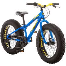 20 Mongoose Kong Boys All Terrain Fat Tire Bike Blue