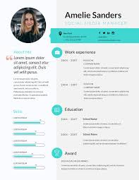 Free Resume Maker Resume Builder Visme