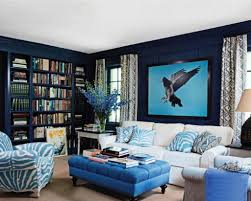 gorgeous blue walls living room bold table and blue walls for awesome living room idea living blue living room ideas