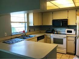 beige 1980s laminate kitchen