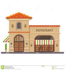 fancy restaurant building clipart. Exellent Fancy Restaurant Building Italian Pizza And Pasta Food Delivery Throughout Fancy Building Clipart