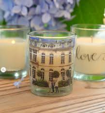 Diy Candle Holders Custom Photo Candle Holders Diy Packing Tape Transfers