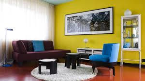 Orange And Yellow Living Room Writer And Film Producer Peter Schlesselmanns Berlin Home