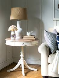 accessories home office tables chairs paintings. Drum Table Makeover With Chalk Paint Accessories Home Office Tables Chairs Paintings M