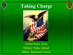 United States Army Military Police School United States Army Military Police School Officer Advanced Course