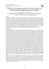 intelligences essay multiple intelligences essay