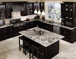 Unique Kitchen Ideas Dark Cabinets Of Black With Contemporary Style Intended Beautiful Design