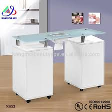 a new range of nail technician desks nail salon tables and in nail tech desk decorating