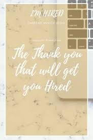 Success Work Quotes : How To Send A Thank You Note That Could Get ...
