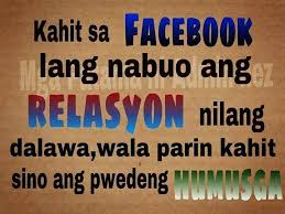 Facebook Quotes Tagalog | GLAVO QUOTES