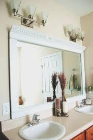 trim around bathroom mirror. Bathroom Awesome Wood Trim Around Mirror Inspirational With Regard To Measurements 925 X 1393