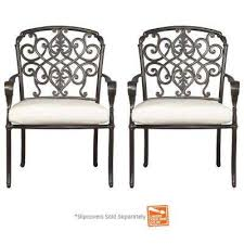 Edington Outdoor Dining Chairs Patio Chairs The Home Depot