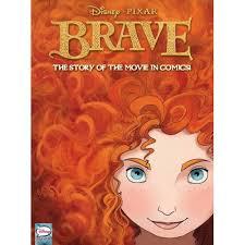 disney pixar brave ic cover art