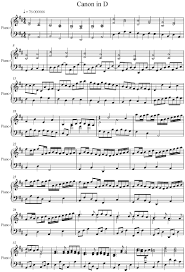 pachelbel canon violin sheet music pachelbel canon in d piano version band pinterest pianos