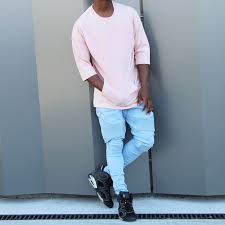 Light Blue Jeans Streetwear Pin On Fashion Outfits Outfit Grids For Men